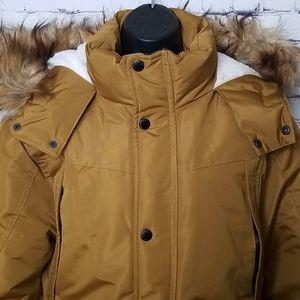 NWOT Ben Sherman hooded parka with faux fur